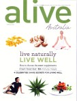 'Ease the sneeze,' alive Australia, Spring 2009 - cover